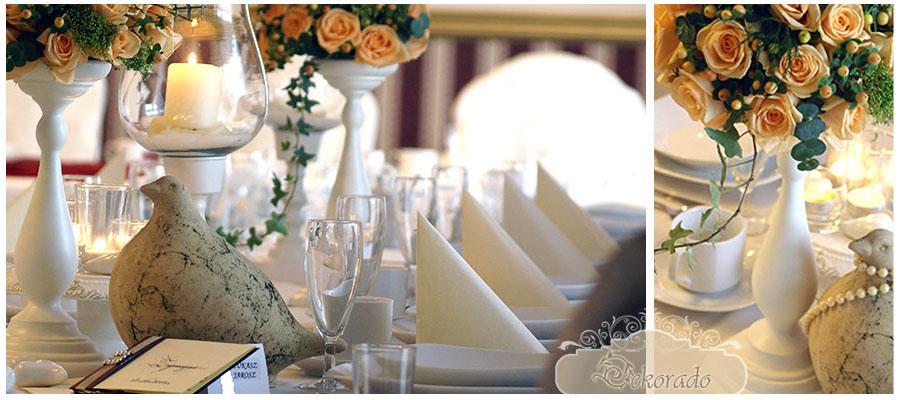 dekoracje sal weselnych w gliwicach